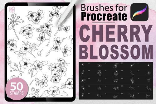 Cherry Blossom Stamps.jpg