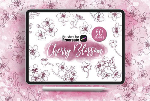 Cherry Blossom Stamps.jpg