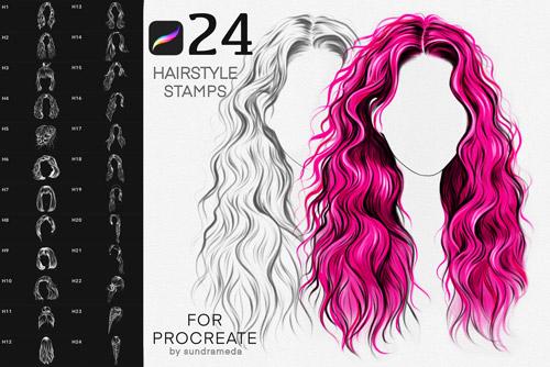 Hairstyle II Stamp Brushes.jpg