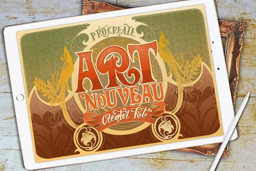 Modern Art Nouveau Creator Kit.jpg
