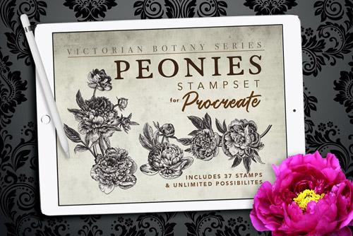 Peonies Stampset.jpg