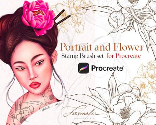 Portrait and Flower.jpg