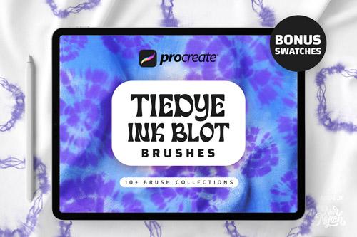 Procreate Tie Dye Ink Blot Brushes.jpg